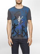 Calvin Klein Slim Fit Layered Logo T-Shirt
