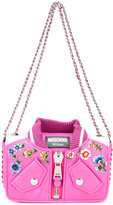 Moschino bomber jacket shoulder bag - women - Calf Leather - One Size