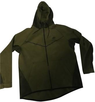Nike Green Cotton Knitwear & Sweatshirts