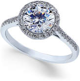Arabella Swarovski Zirconia Ring in 14k White Gold, Only at Macy's