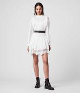 AllSaints Aislyn Broiderie Dress