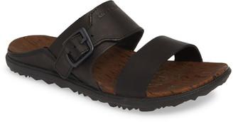 Merrell Around Town Luxe Buckle Slide Sandal