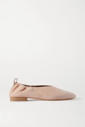 Co Suede Ballet Flats - Neutral