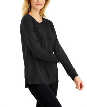 Ideology Long-Sleeve Top, Created for Macy's