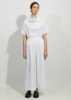 Dusan Cotton Wideleg Trousers
