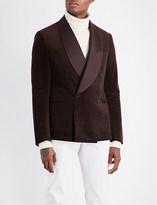 Ralph Lauren Purple Label Slim-fit corduroy tuxedo jacket