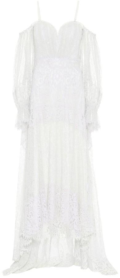 Jonathan Simkhai Floral-lace maxi dress