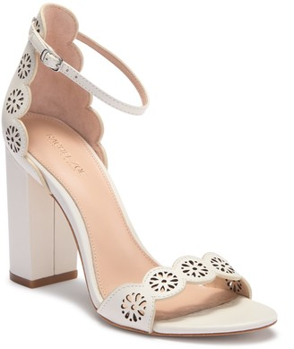Rachel Zoe Waverly Leather Perforated Sandal