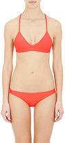 Mikoh Women's Maui Bikini Top-ORANGE