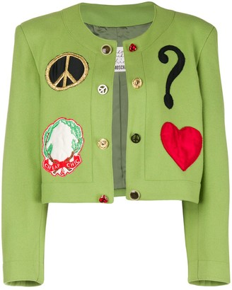 Moschino Pre Owned Spencer cropped jacket
