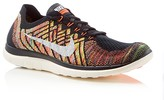 Nike Men's Free 4.0 Flyknit Lace Up Sneakers