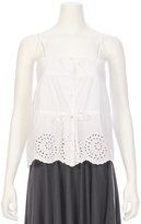 Mes Demoiselles Cute Eyelet Top