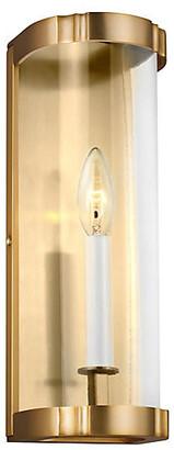 Alexa Hampton Ah X Generation Lighting Thompson Sconce - Burnished Brass