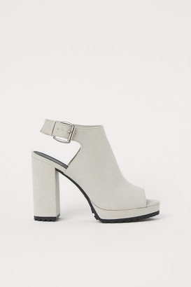 H&M Chunky-soled Sandals