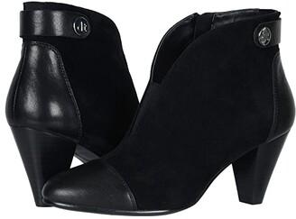 David Tate Ultra (Black Suede/Lamb Skin) Women's Boots
