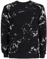 Dc Black And White Paint Splat Sweatshirt