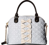 Betsey Johnson Chic Dome Bow Satchel
