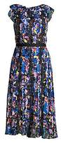 Jason Wu Collection Women's Printed Chiffon Day Dress