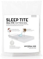 """Malouf Seal Tite Heavy-Duty Sealable 76"""" x 96"""" Mattress Storage Bag (Fits Twin to Queen Mattresses), Full/Queen"""
