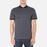 Michael Kors Men's Dot Diamond Print Polo Shirt Midnight