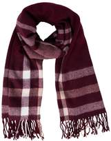 Miss Selfridge Scarf burgundy