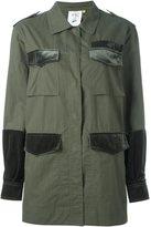 SteveJ & YoniP Steve J & Yoni P multiple flap pockets jacket