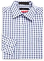 Saks Fifth Avenue Trim-Fit Gingham Check Dress Shirt