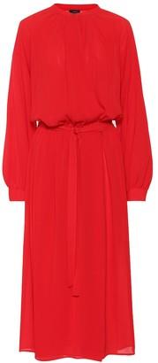 Joseph Nolan silk geogette midi dress