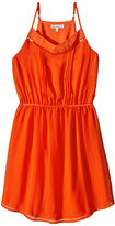 Ella Moss Elastic Waist Pleated Dress (Big Kids)