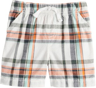 Baby Boy Jumping Beans Patterned Woven Short