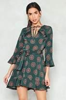 Nasty Gal Dancing in Circles Paisley Dress