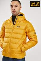 Mens Jack Wolfskin Helium Jacket - Yellow