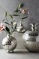 Anthropologie Frosted Mercury Vase