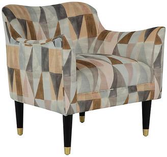Kim Salmela Alexander Chair - Gray/Blush