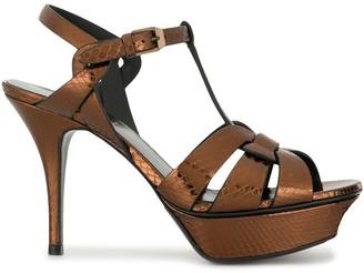 Saint Laurent 100mm Strappy Sandals