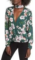 Somedays Lovin Women's Burning Desire Choker Collar Blouse