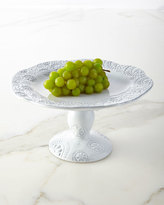 Horchow Lace Large Pedestal Server