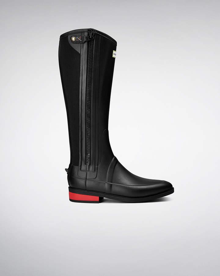 Hunter Women's Wellesley Rubber Riding Boots