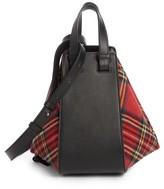 Loewe Small Hammock Tartan Shoulder Bag - None