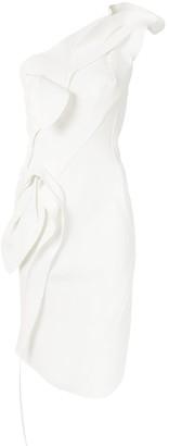 Maticevski One Shoulder Sculpted Dress