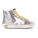 Golden Goose Deluxe Brand Francy Mirror Check Leather Trainers