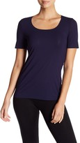 Wolford Pure Stretch Short Sleeve Tee