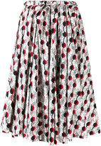 Marni Garland print midi-skirt - women - Cotton - 38