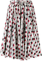 Marni Garland print midi-skirt - women - Cotton - 40
