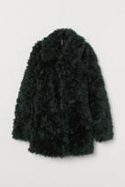 H&M Faux Fur Jacket - Green