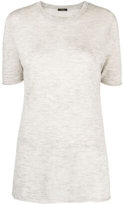 Joseph marled-effect short-sleeve T-shirt