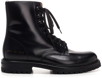 Common Projects Lug Sole Combat Boots