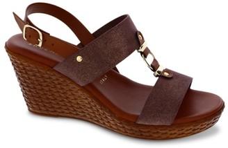 Italian Shoemakers Pusha Wedge Sandal