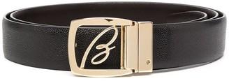 Brioni Logo Belt