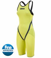 Arena Powerskin Carbon Flex VX Short Leg Open Back Tech Suit Swimsuit 8127908